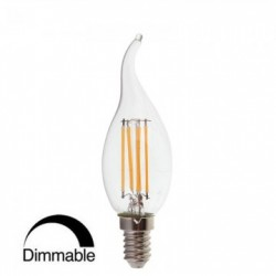 Ampoule led 4W Flamme dimmable