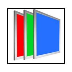 Dalle LED de couleur au choix 600 X 600 mm