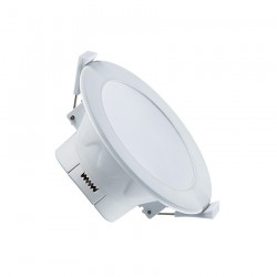 Downlight LED 10W IP44 Ø115x58 mm coupe Ø90 mm