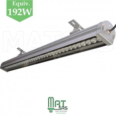 Wallwasher LED 24W de 1 métre