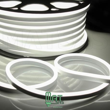Strip LED néon flexible  Professionnel EPISTAR 2835 120 LED/m de 50 mètres blanc froid étanche (IP68)