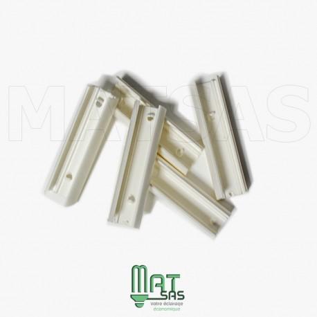 Lot de 5 clips pour strip LED flexible 220V