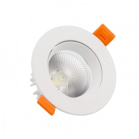 Spot LED mono bloc COB Orientable Rond 5W