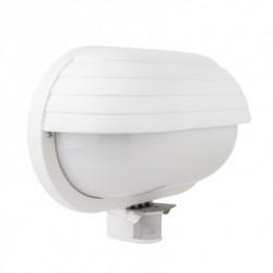 Hublot ovale E27 non inclus avec capteur PIR 264x102x190 mm IP44