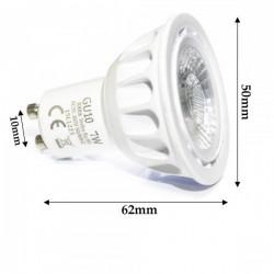 Ampoule GU10 LED 7 Watts Professionnelle