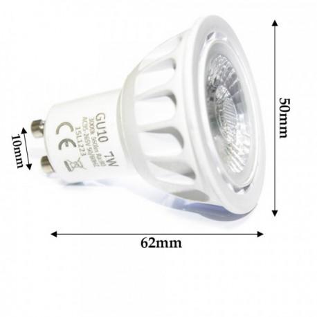 Ampoule LED GU10 COB 7 Watts Professionnelle
