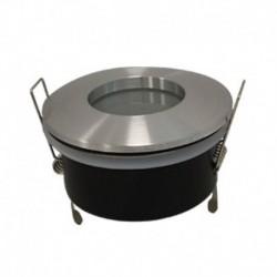 Support de spot Rond Etanche Aluminium Ø82 x 59 mm IP65