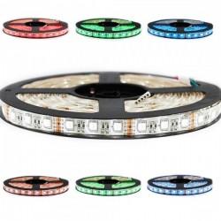 Ruban LED 5050 / 60 RGBW IP65 (multi couleur + blanc froid) longueur 5 métres