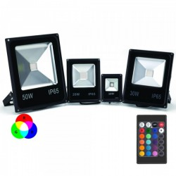 Projecteur LED RGB (multi couleurs) 10W, 20W, 30W, 50W