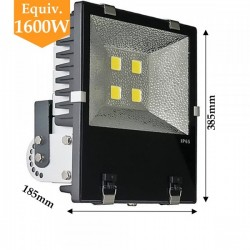 Projecteur LED chips BRIDGELUX 200W alimentation MEANWELL blanc froid ou neutre
