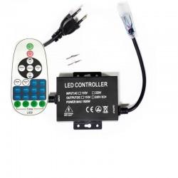 Variateur pour néon flexible LED 220V mono couleur 1500W