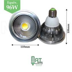 Ampoule LED E27 15W  PAR30 blanc neutre (gros culot)