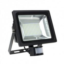 Projecteur LED  avec Détecteur 50W 120lm/W blanc froid
