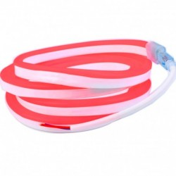 Néon flexible LED Pro 12V EPISTAR 2835 120 LED/m de 5 mètres Rouge étanche (IP67)