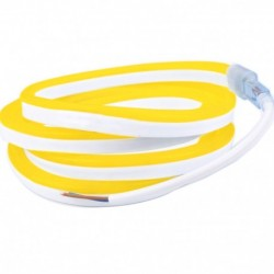 Néon flexible LED Pro 12V EPISTAR 2835 120 LED/m de 5 mètres Jaune or étanche (IP67)