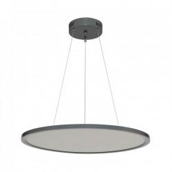 Lampes LED 36W Suspendue Magnus gris alluminium