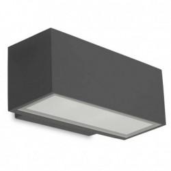Applique LED 17W extérieur IP65 haut et bas AFRODITA anthracite