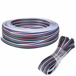 Cable 5 mètres 5050 RGBW pour rallonge