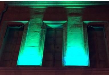 éclairage barre led rbg pour façade